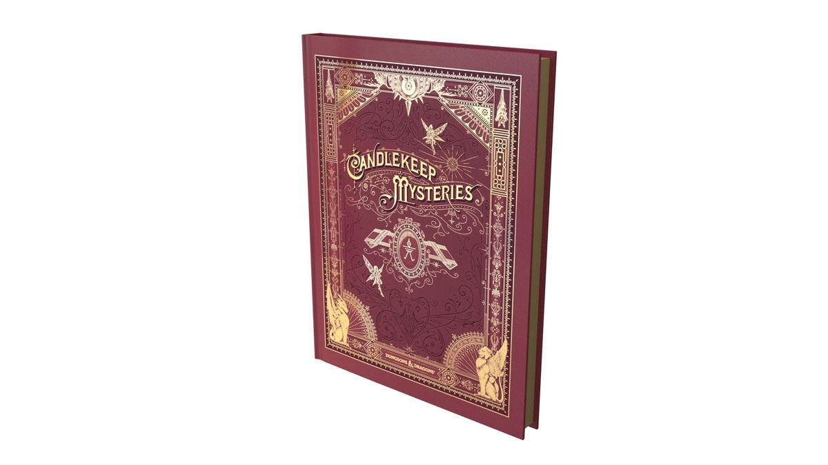 Alternate Art Cover for Candlekeep Mysteries