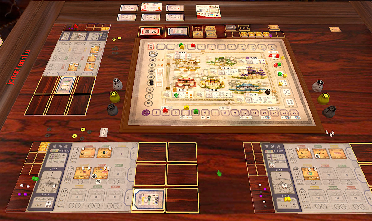 Pingyao: First Chinese Banks on Tabletop Simulator