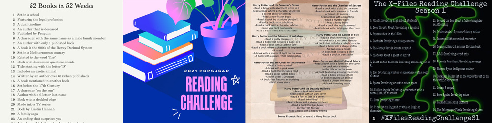 Reading Challenges, Image Sophie Brown