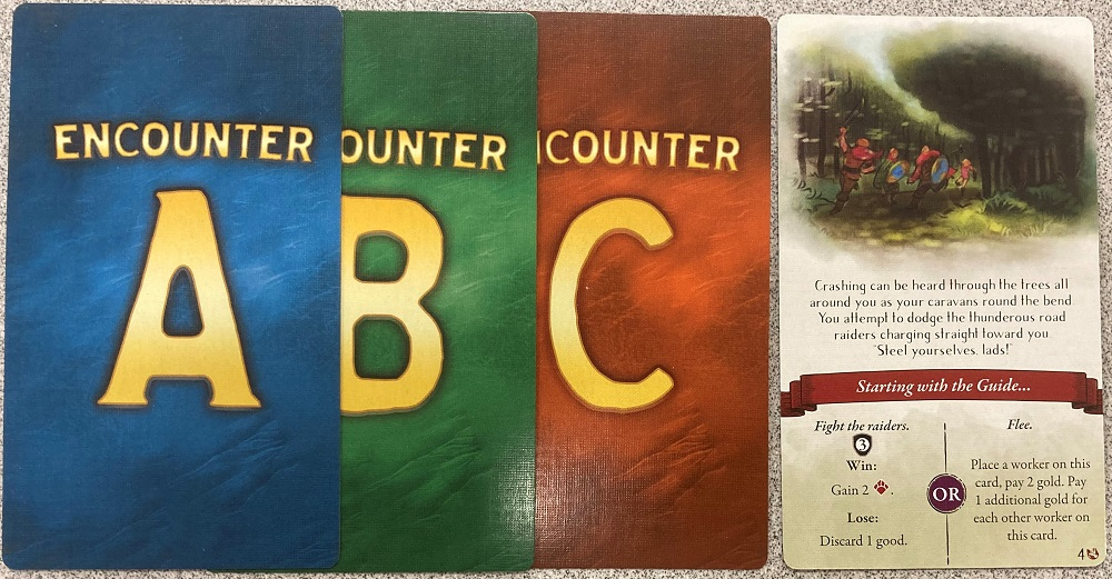 encounter cards