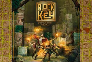 Block and Key cover