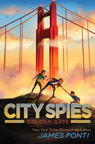 City Spies: Golden Gate cover