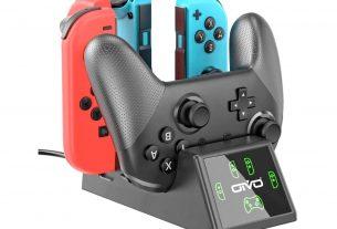 Geek Daily Deals 020421 nintendo switch controller charging dock