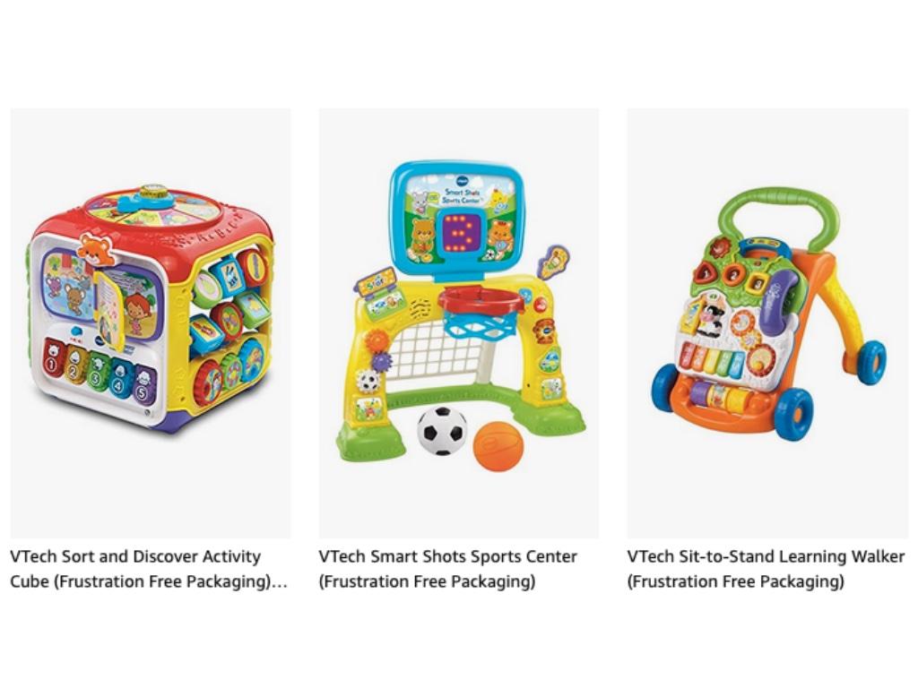 Geek Daily Deals 021921 v-tech toys sale