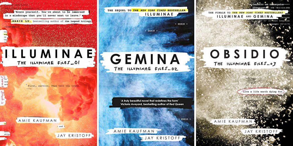 The Illuminae Files trilogy