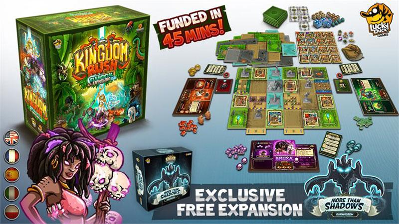 Kingdom Rush: Elemental Uprising - Gamefound Banner