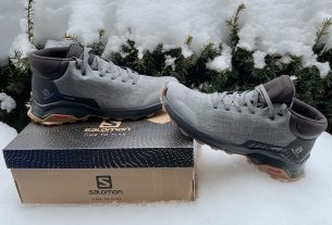 Salomon X Reveal Chukka CSWP winter hiking boots review