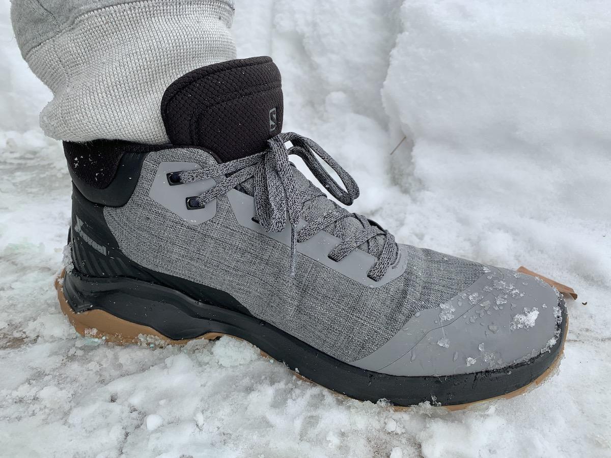 Salomon X Reveal Chukka CSWP winter hiking boots review