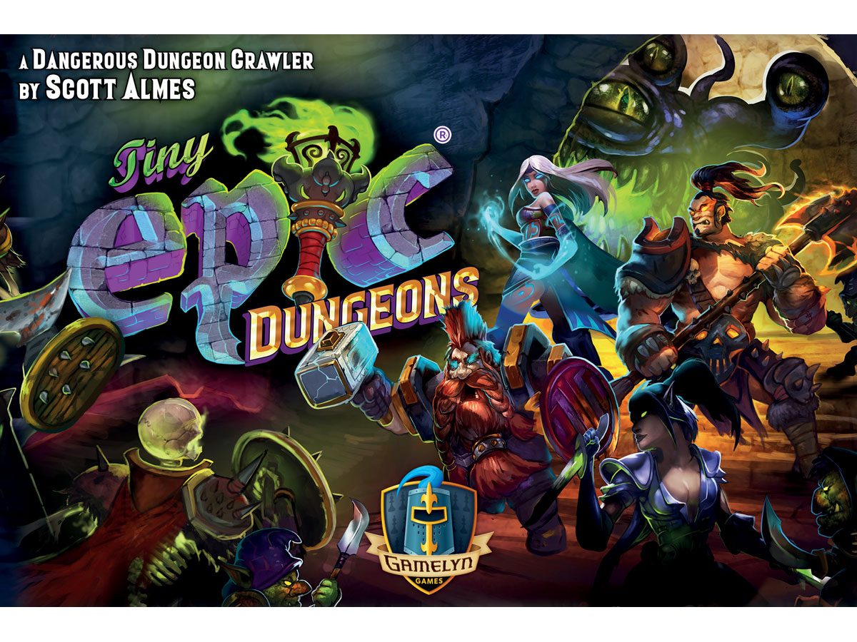 Tiny Epic Dungeons - cover