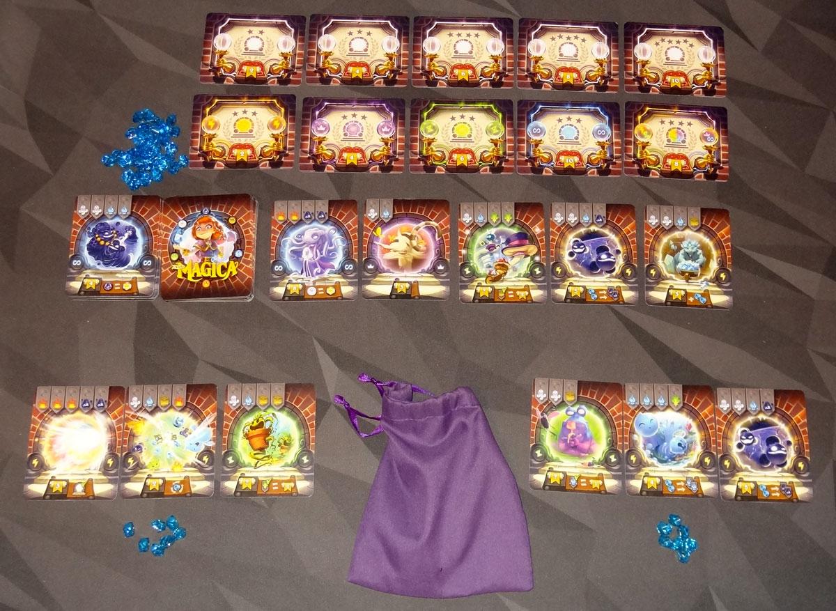 Via Magica 2-player setup