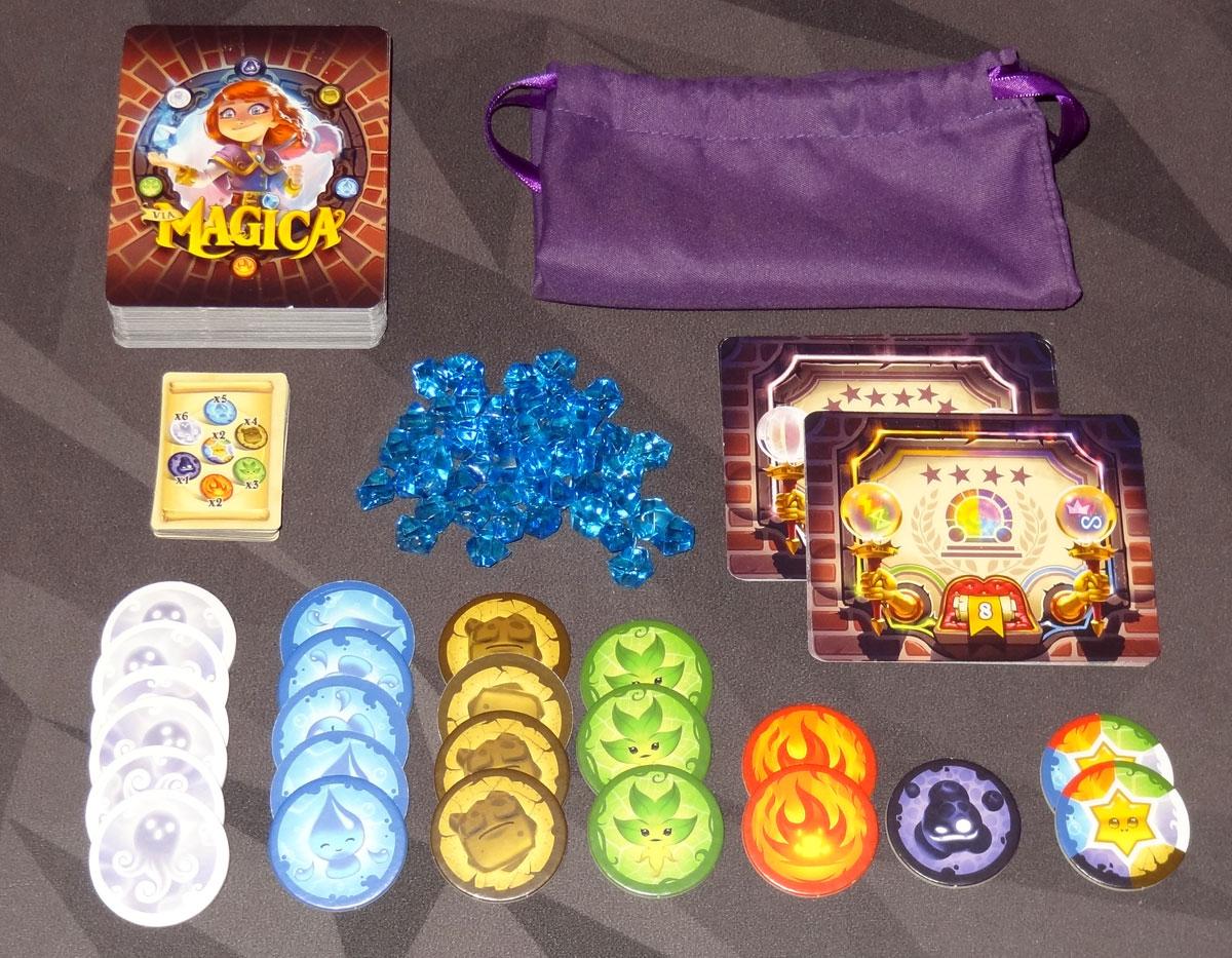 Via Magica components