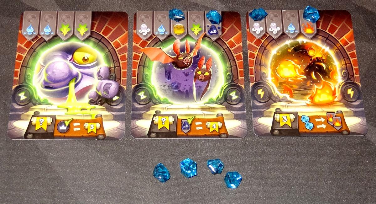 Via Magica - placing crystals on portals