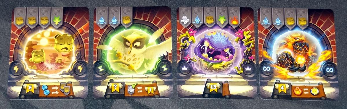 Via Magica portal cards