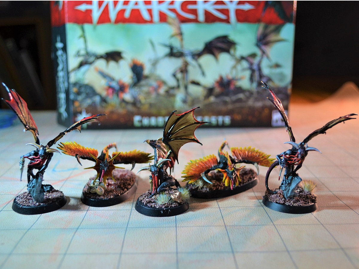 Warcry Chaotic Beasts