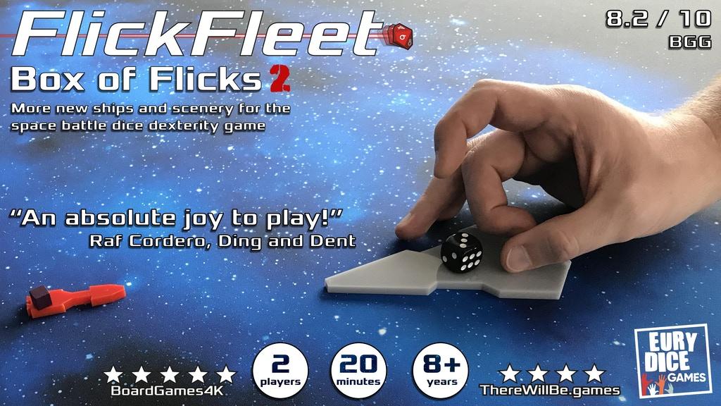 FlickFleet Kickstarter banner