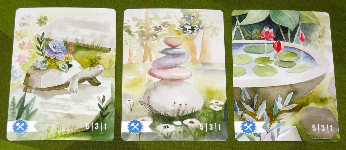Floriferous sculpture cards