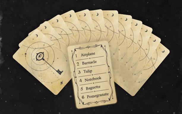 Ghost Writer item cards