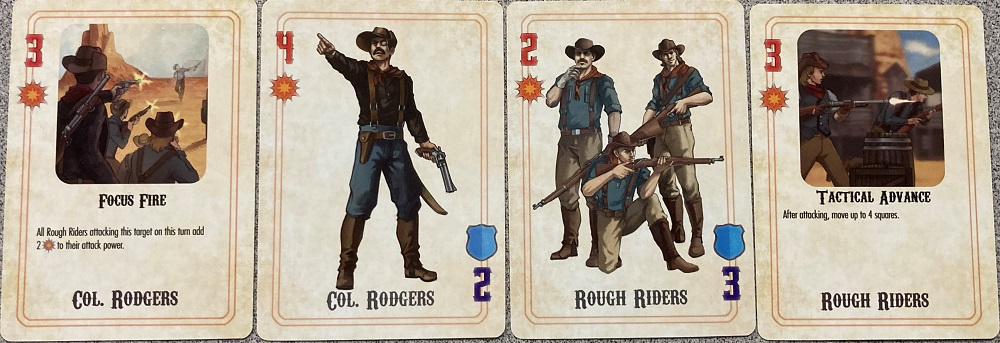 Rough riders deck