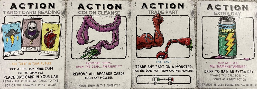 action cards
