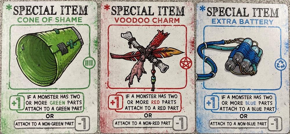 special item cards