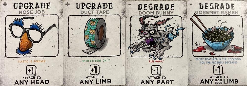 Upgrade cards