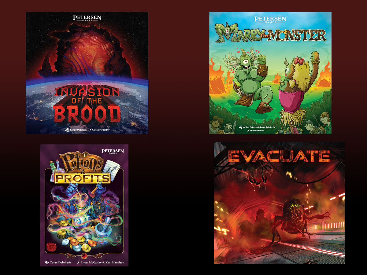Monster Invasion from Petersen Games