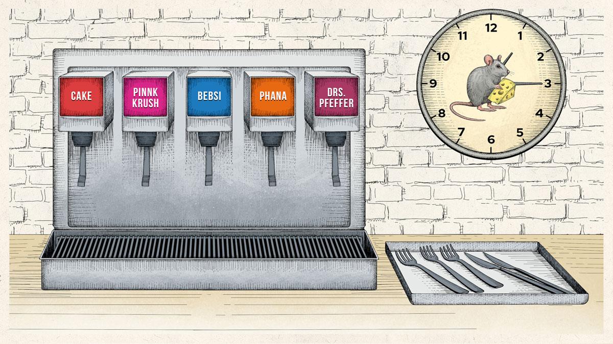 Soda Fountain illustration