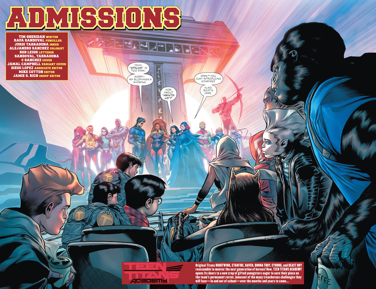 Review - Teen Titans Academy #1: Orientation Day - GeekDad