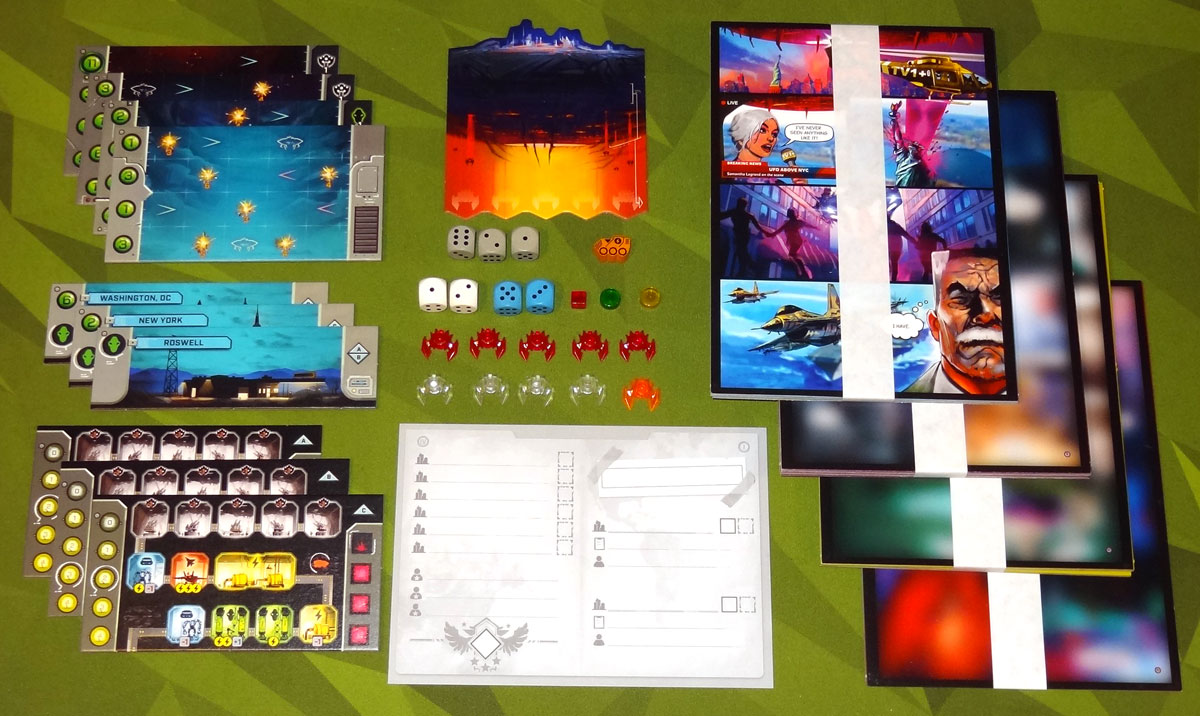 Under Falling Skies components