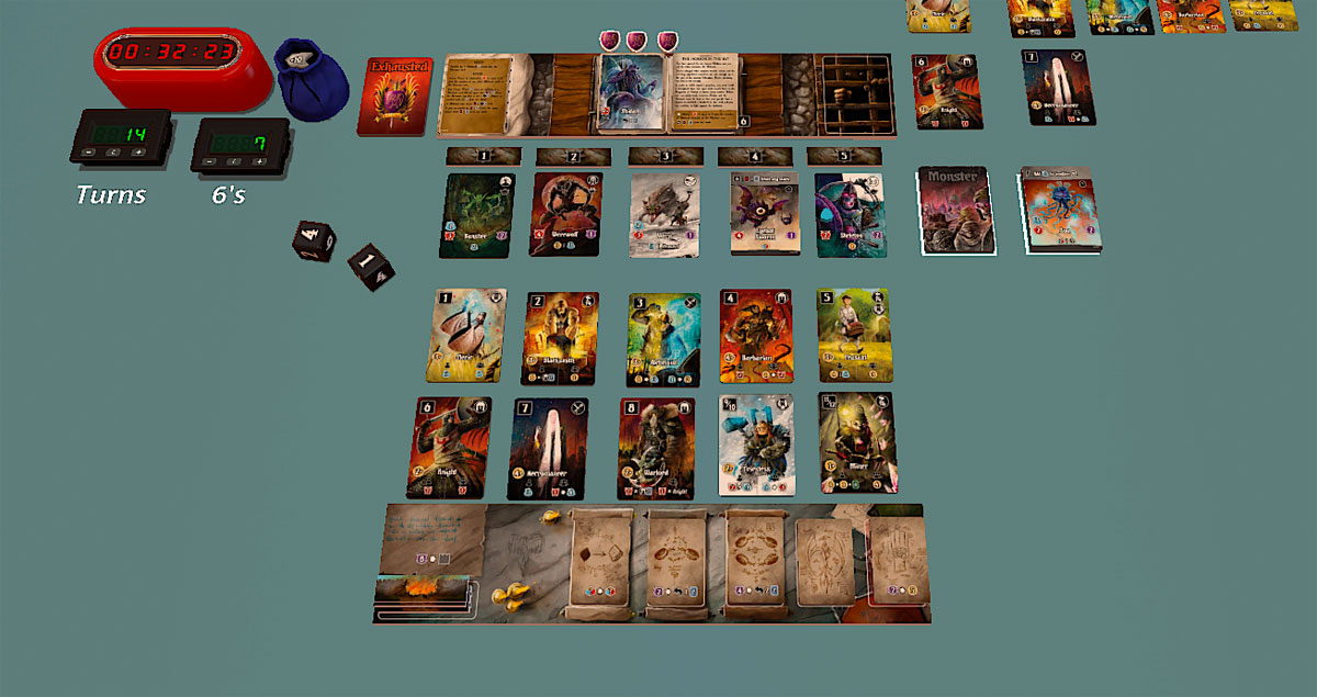 Valeria: Card Kingdoms - Darksworn on Tabletop Simulator
