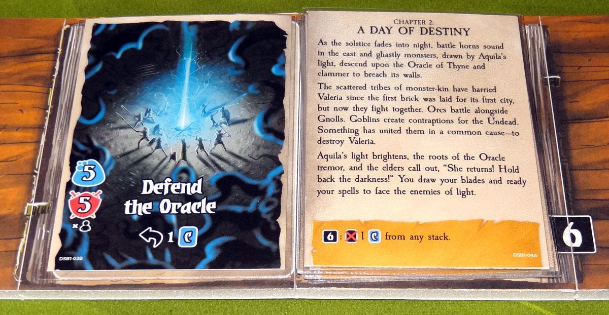Valeria: Card Kingdoms - Darksworn Book task