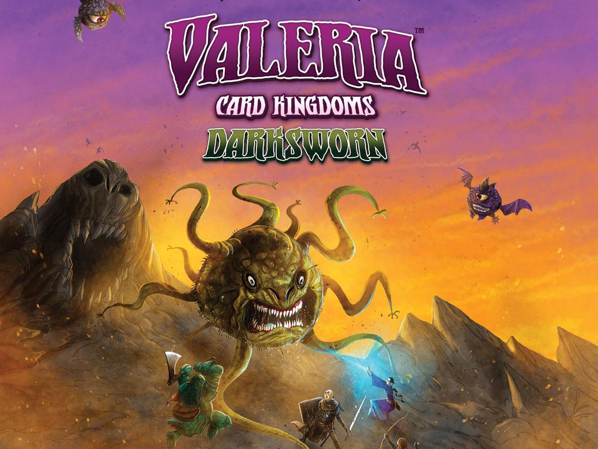 Valeria: Card Kingdoms - Darksworn box cover
