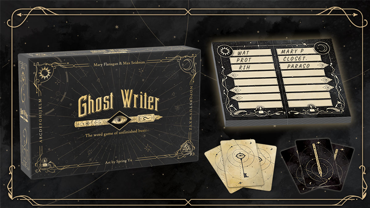 Ghost Writer components image
