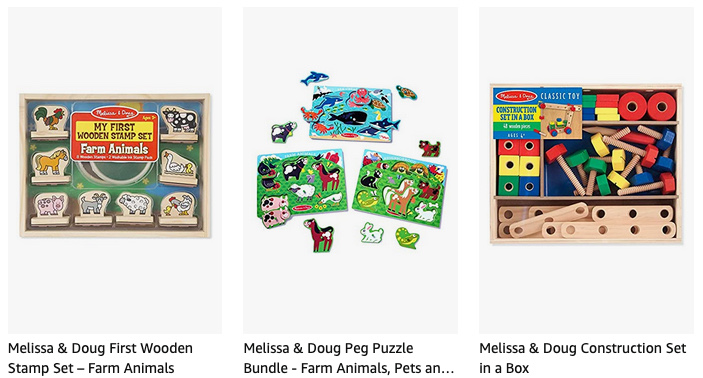 Geek Daily Deals 210324 melissa and doug toys