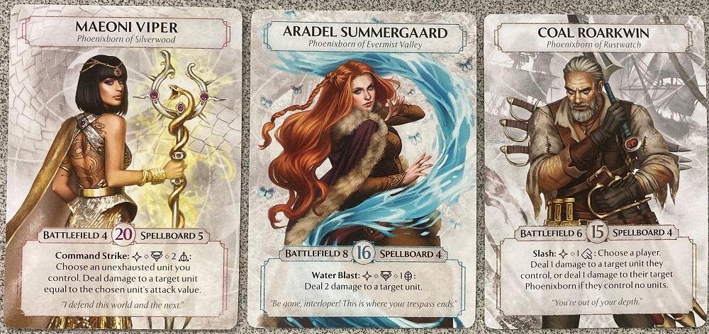 Phoenixborn cards
