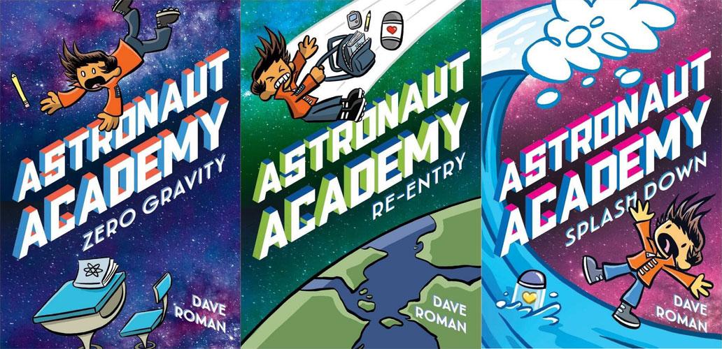Astronaut Academy trilogy