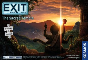 Exit: The Sacred Temple box cover