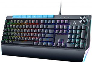 Geek Daily Deals 210412 AUKEY gaming keyboard dial
