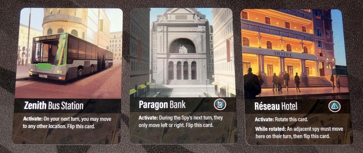 Harsh Shadows location cards