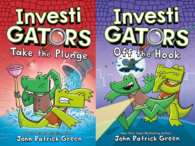 InvestiGATORS Books 2 and 3