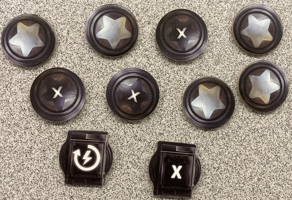 command and supply tokens