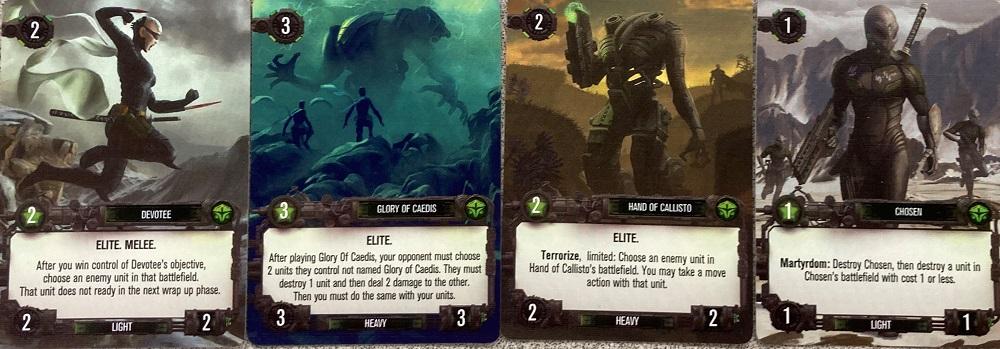 Scion Imperium units