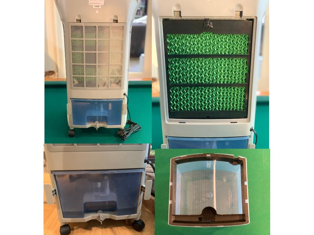Newair Evaporative Cooler Insides
