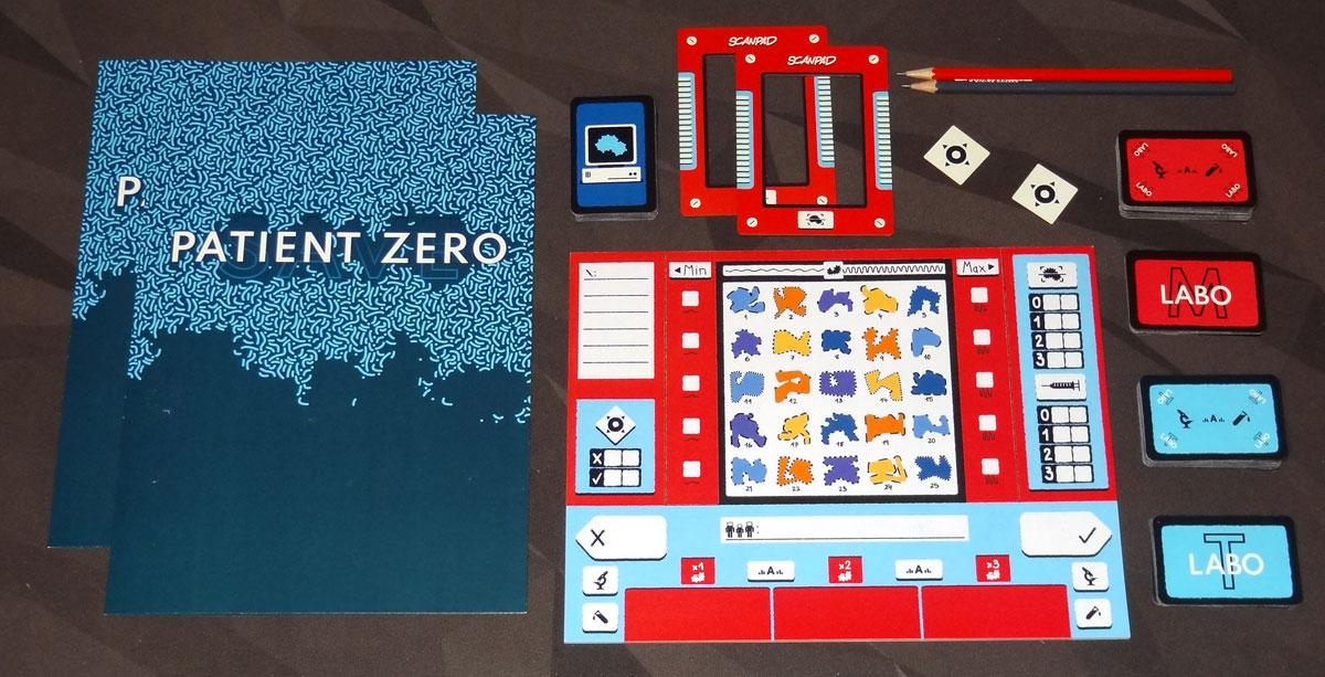 Save Patient Zero components