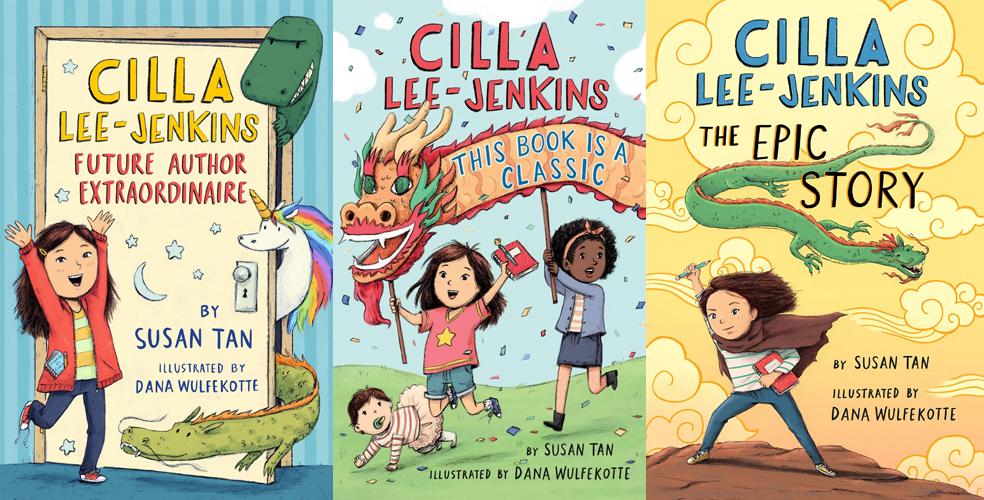 Cilla Lee-Jenkins trilogy