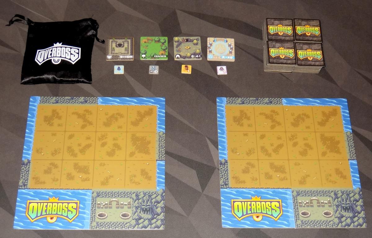 Overboss 2-player setup