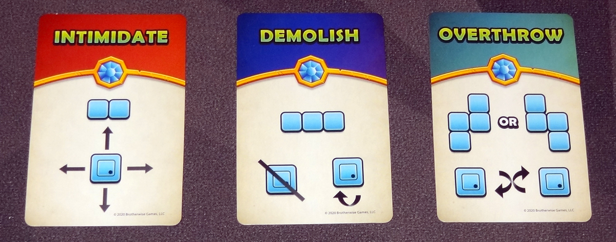 Overboss command cards