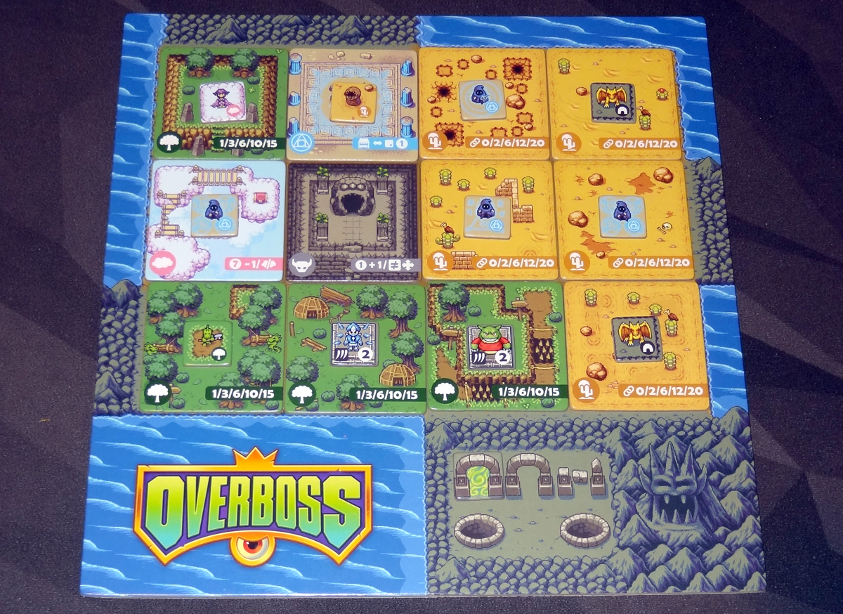 Overboss completed map