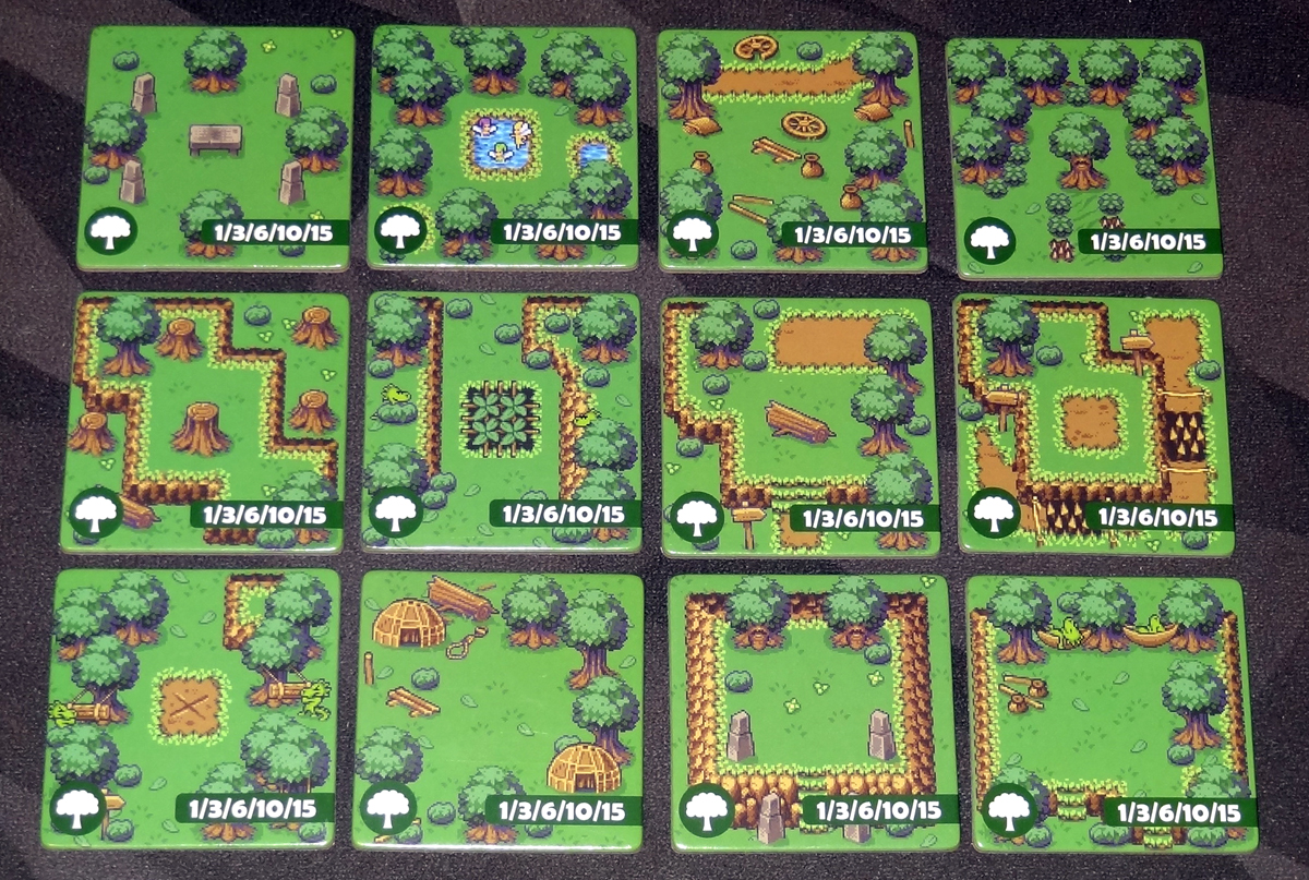 Overboss forest tiles