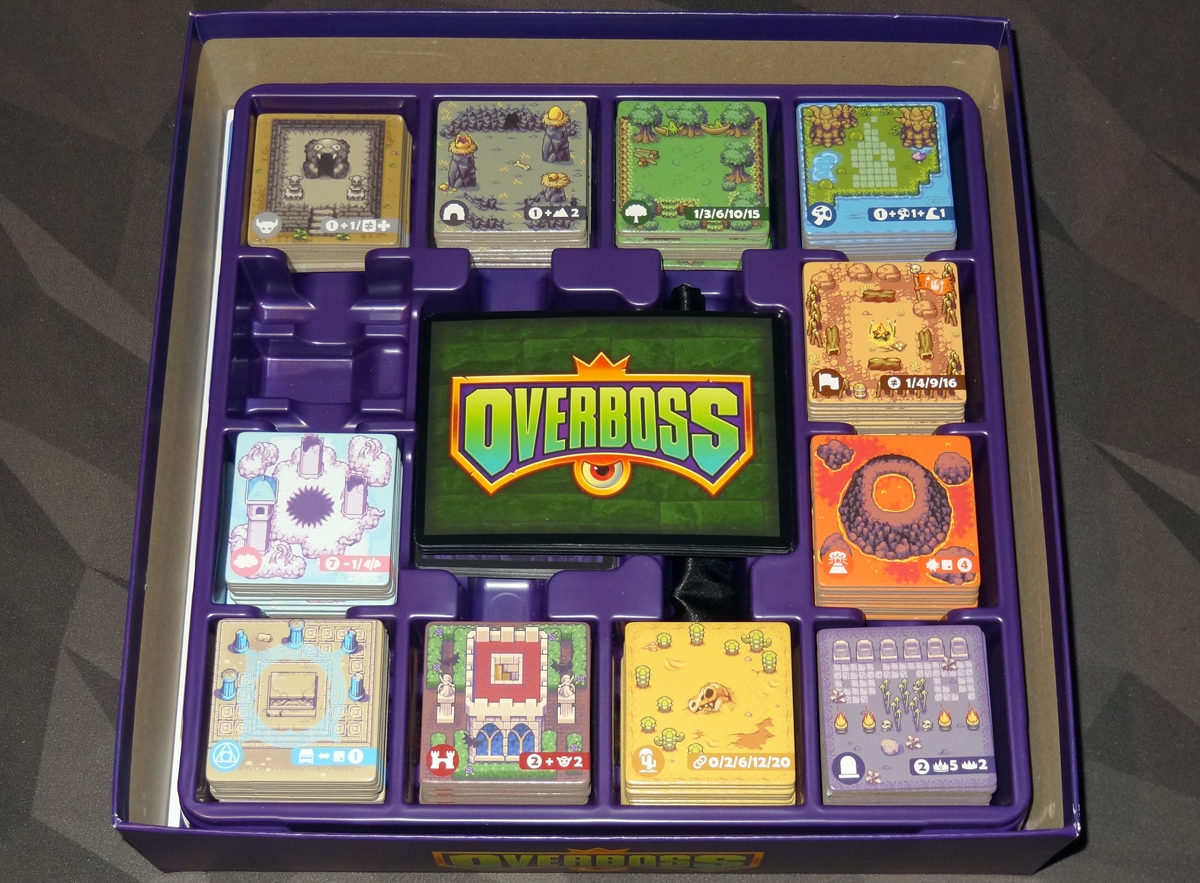 Overboss Game Trayz